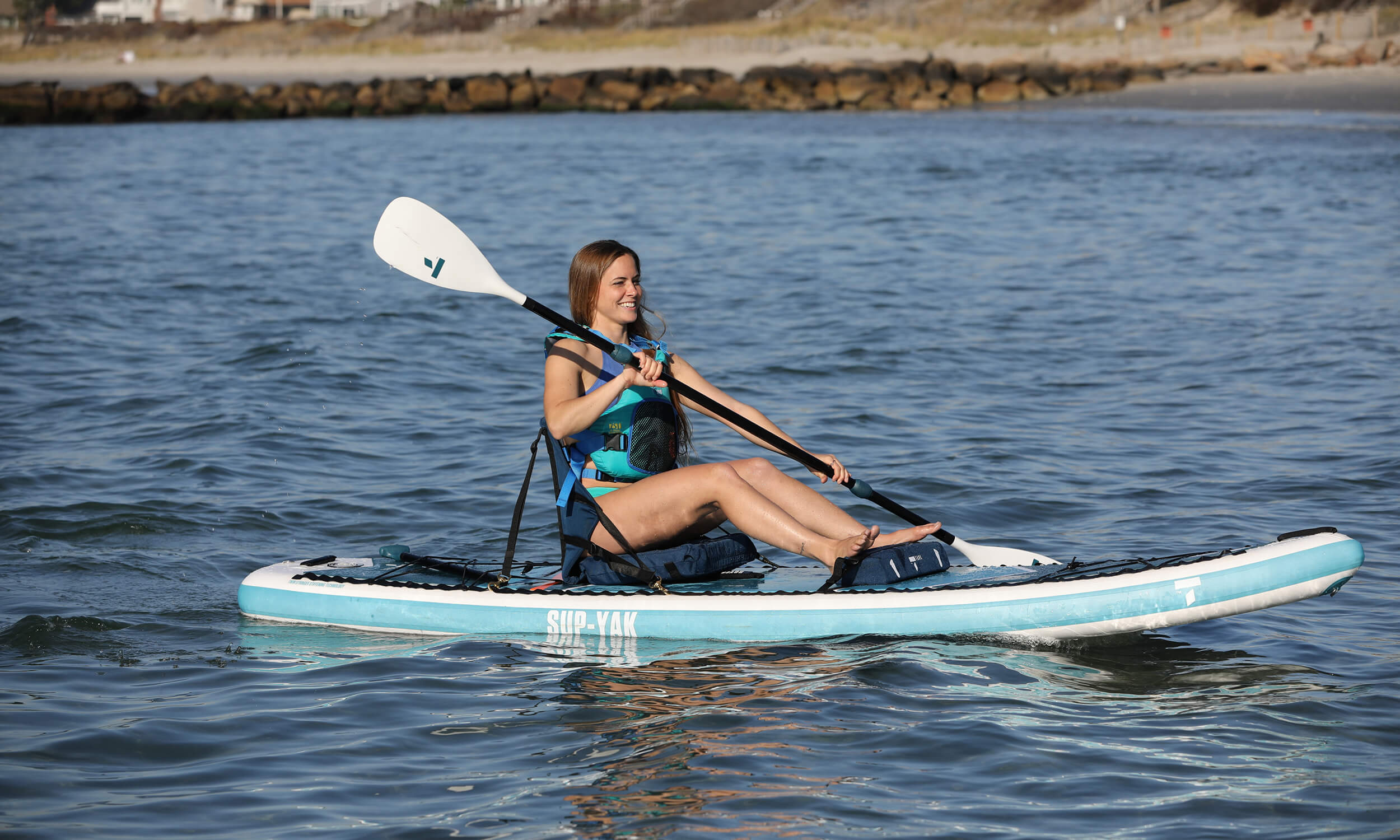 Pour kayaks gonflables