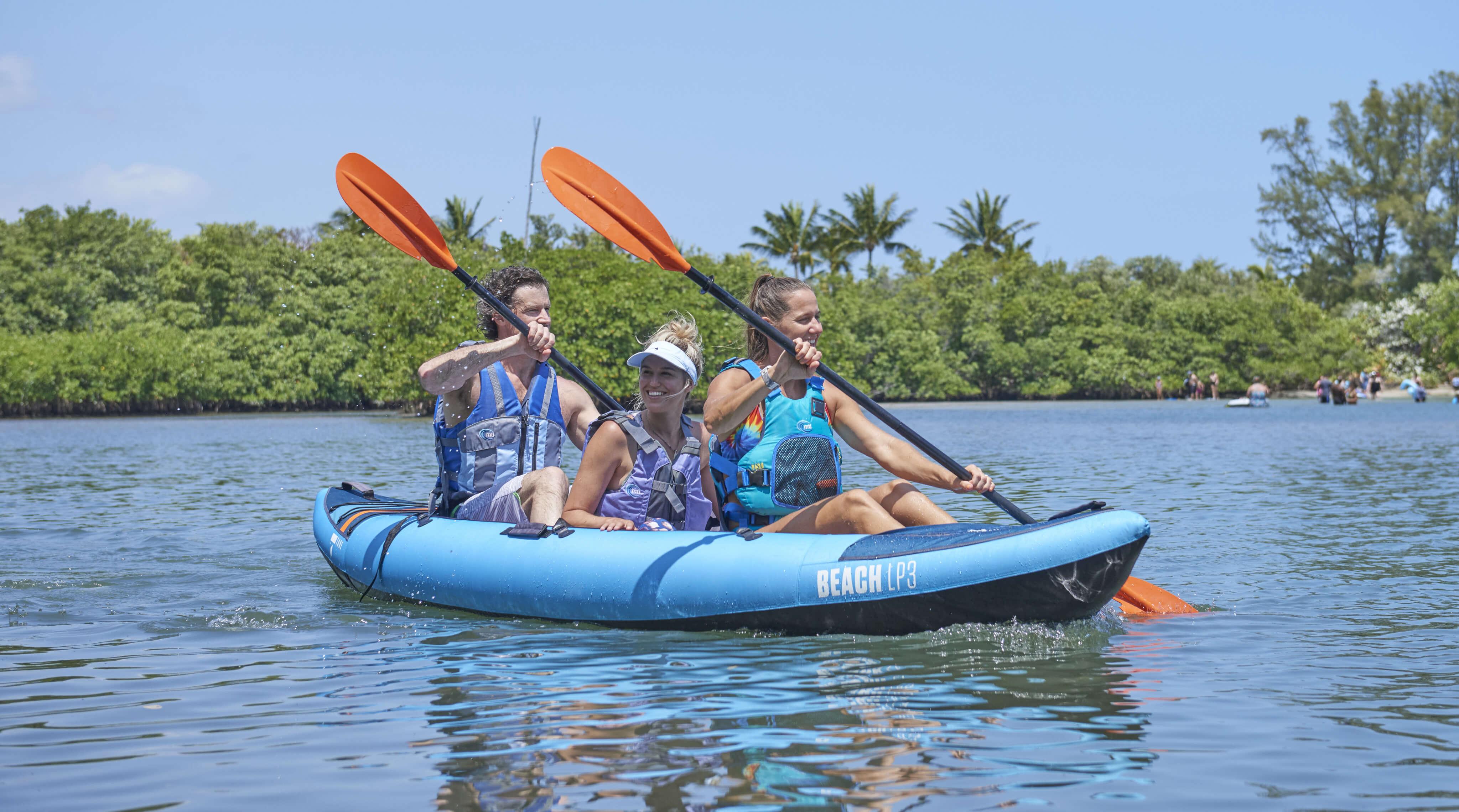 Trio Kayaks