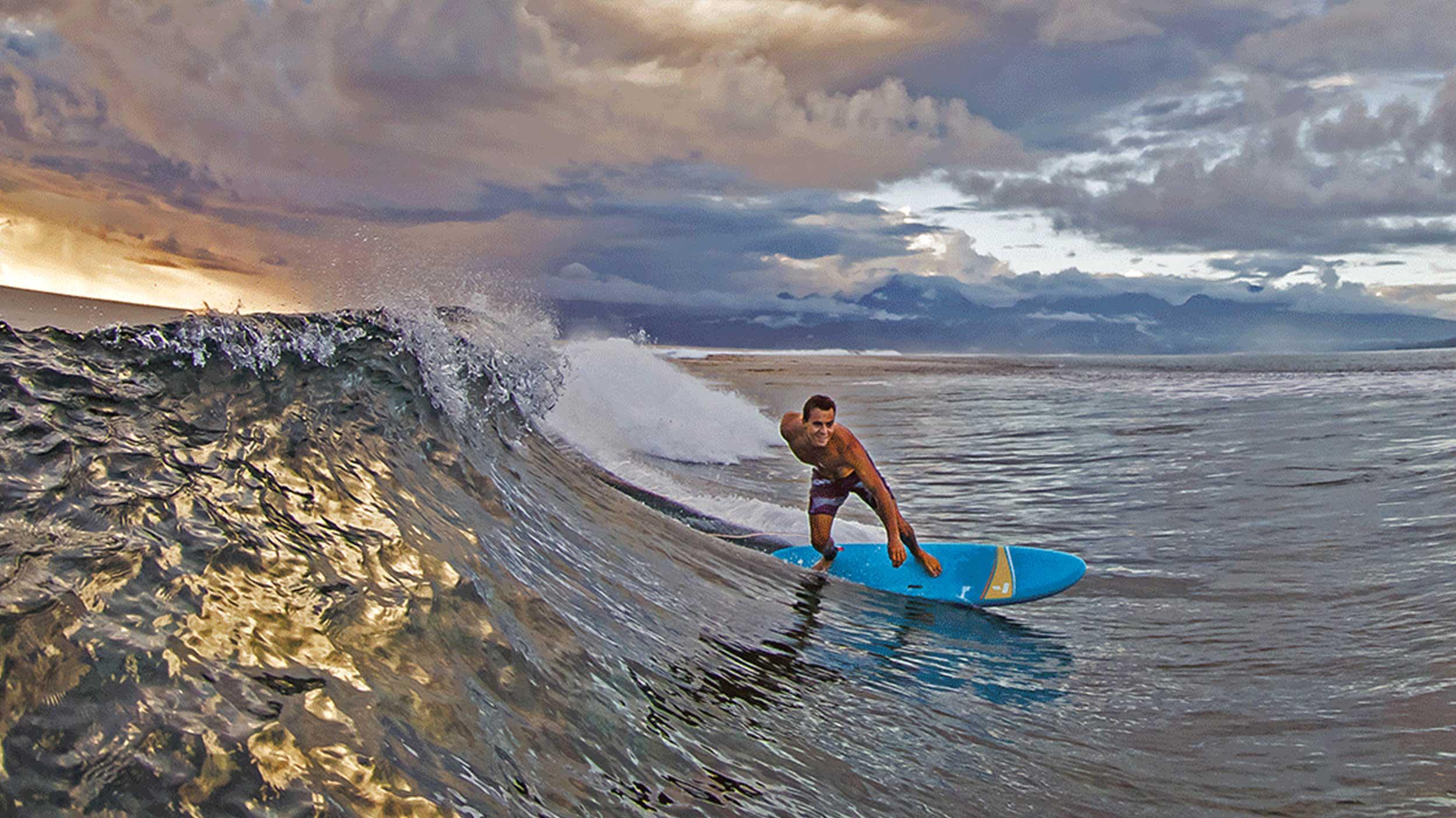 Surfs soft top