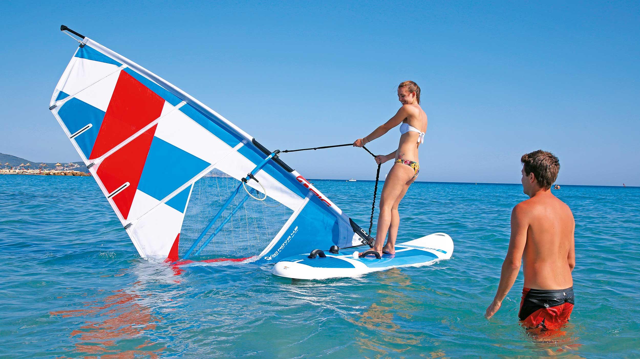 Windsurf apprentissage