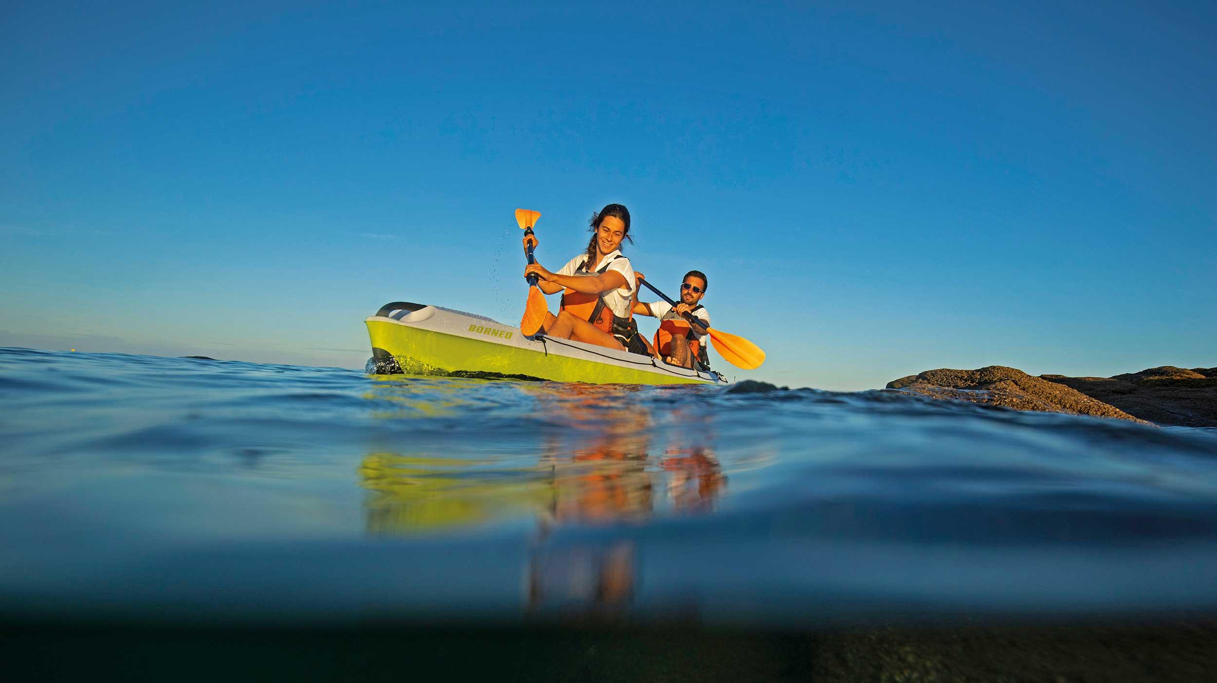 Kayaks by Capacity