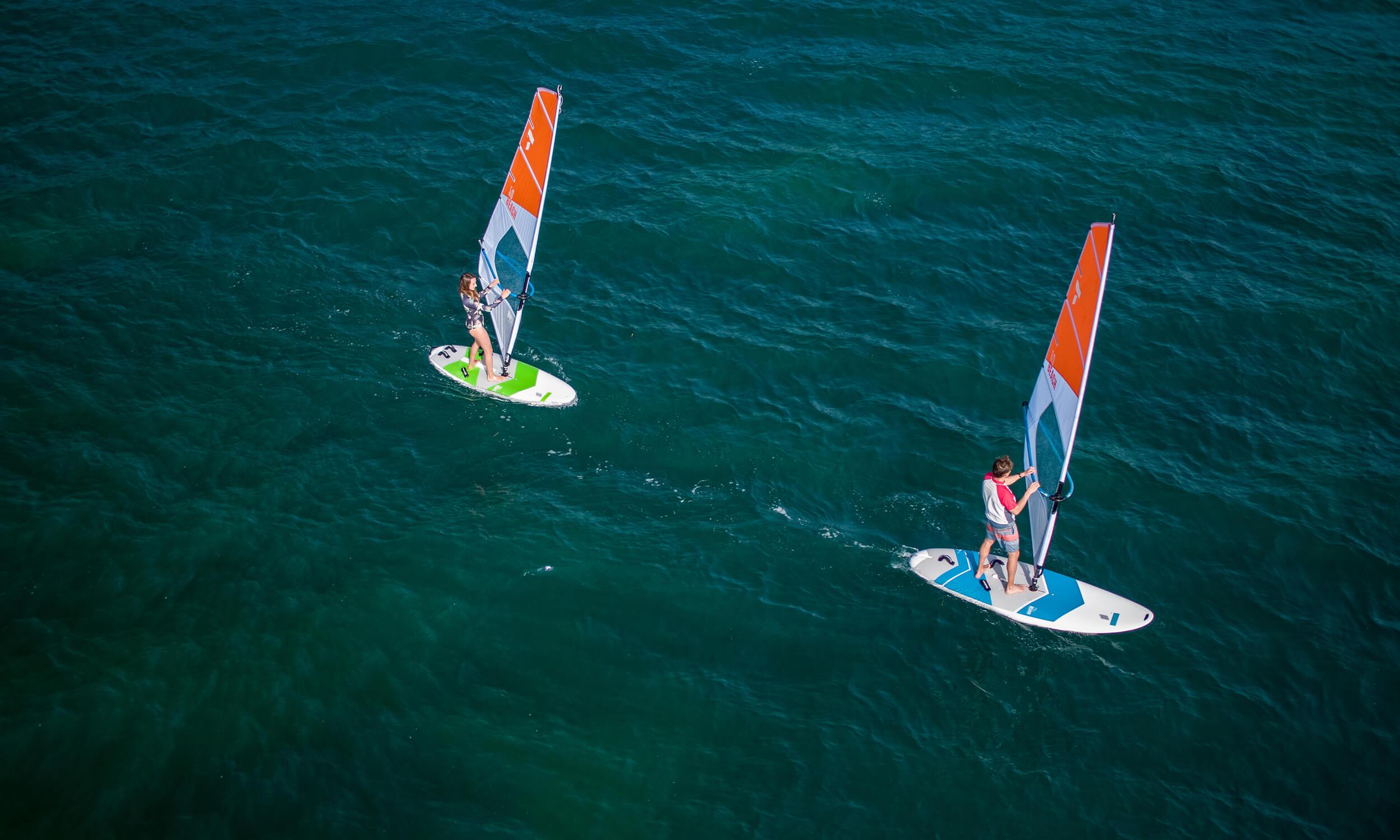 Beach windsurf series