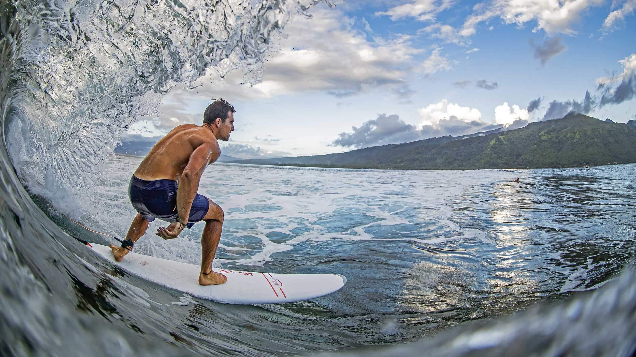 Retro surf series