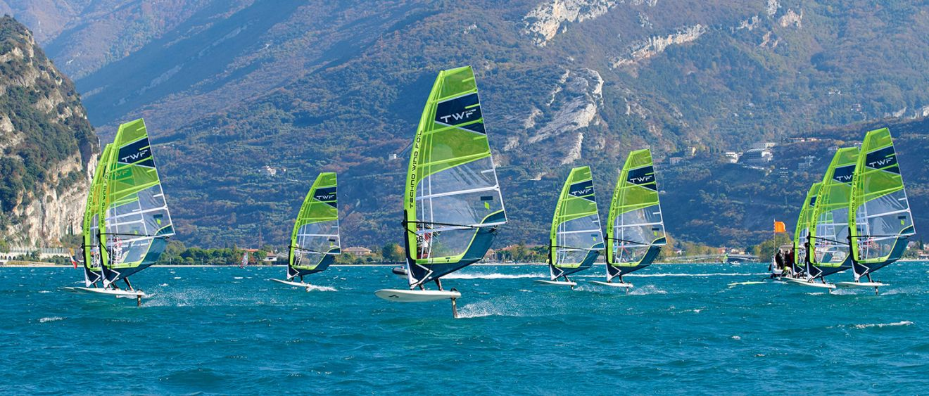 TECHNO WIND FOIL 130: THE BOARD FOR YOUTH RACERS